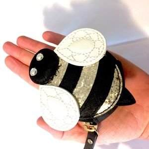 Kate Spade 'Down The Rabbit Hole' Bee Coin Purse